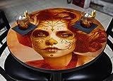 BarConic Vendimilla Belleza Round Wooden Table Top - 24''