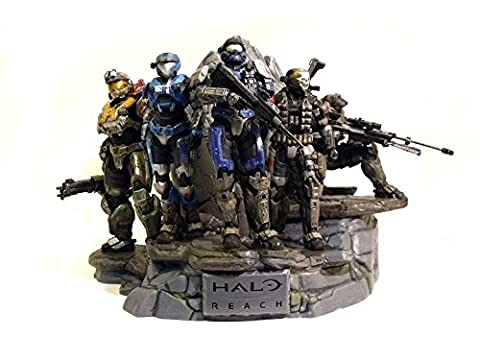 Halo Reach Legendary Edition Collection Nobel Team Statue / Action Figure (Halo Master Chief Pop)