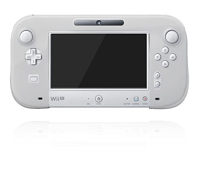 任天堂公式ライセンス商品 シリコンカバー for Wii U GamePad ...