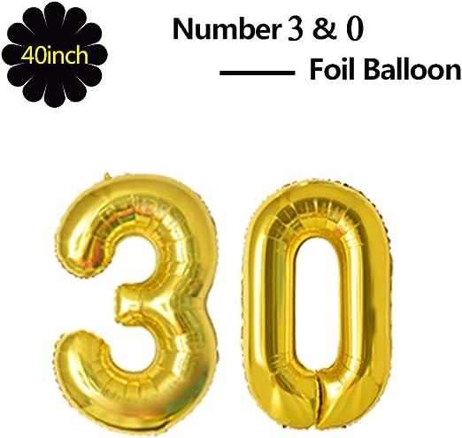 Amazon.com: Globo de lámina dorada de 40 pulgadas para ...