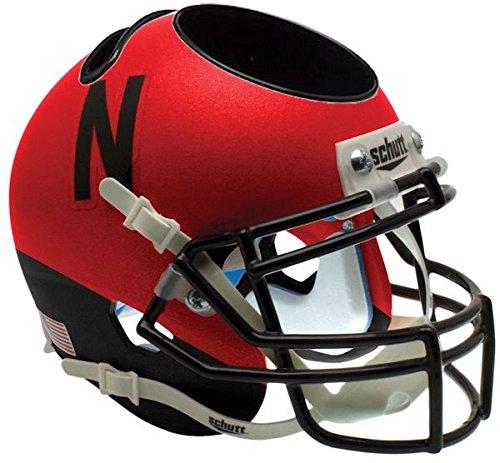 Nebraska Cornhuskers Collectibles - Nebraska Cornhuskers Miniature Football Helmet Desk Caddy - NCAA Licensed - Nebraska Cornhuskers Collectibles