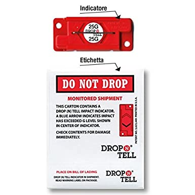 Propac Z-DROP100 Indicatore dUrto Armabile Drop-N-Tell