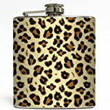 Animal Print - Liquid Courage Flasks - 6 oz. Stainless Steel Flask