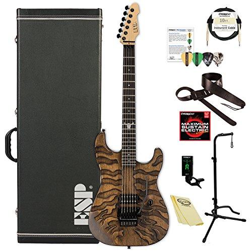 ESP LGLBURNTTIGER George Lynch Signature Burnt Tiger Electric Guitar
