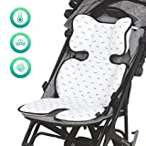 Furrybaby Breathable 3D Air Mesh Car Seat & Stroller Liner, Comfortable Baby Cooling Pad for Summer, White Shoes