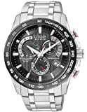 Image of Citizen Men's Eco-Drive Perpetual Chrono Atomic Timekeeping Watch with Day/Date,  AT4008-51E