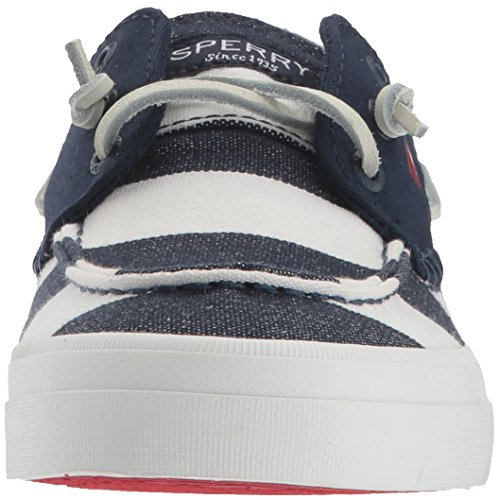 Sperry Top-sider Dames Top Resort Breton Sneaker Marine / Wit