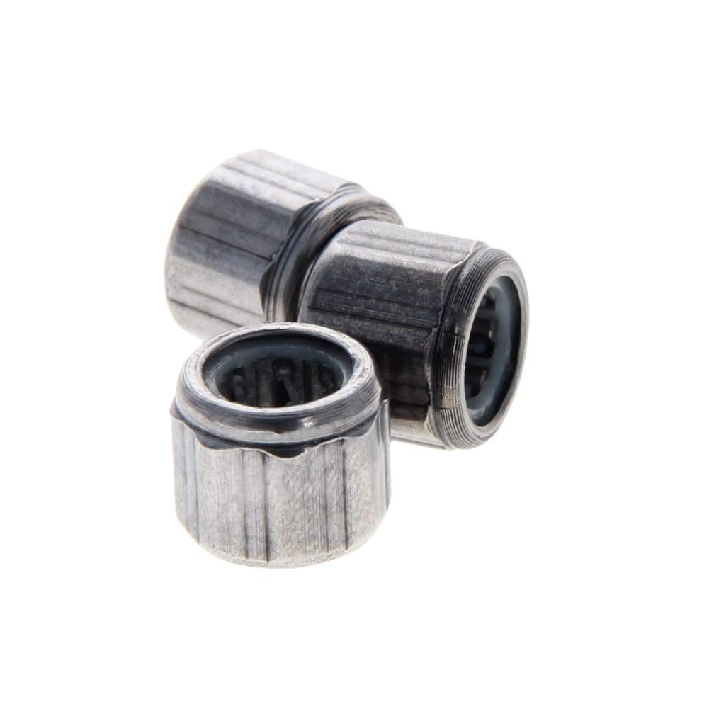 Othmro TA1725 Needle Roller Bearings 2pcs 17x24x25mm for Manufacturing Industry