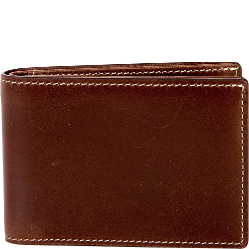 Antiqued RFID Bryant Boconi Mahogany Men's Tooth Hounds Boconi Men's Slimster YBIpwIq