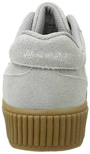 L.A. Gear Damen Flame Vulcanized Sneaker Grau (Cool Grey/Crepe)