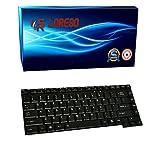 Loreso Laptop Keyboard Toshiba Satellite A200 A300 A300D L300 L300D L510 M300 - (Black)