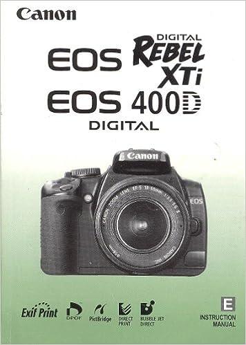 canon eos 400d инструкция скачать