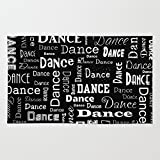 Society6 Just Dance! Rug 4' x 6'