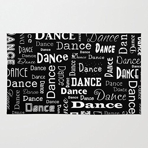Society6 Just Dance! Rug 4' x 6' by Society6
