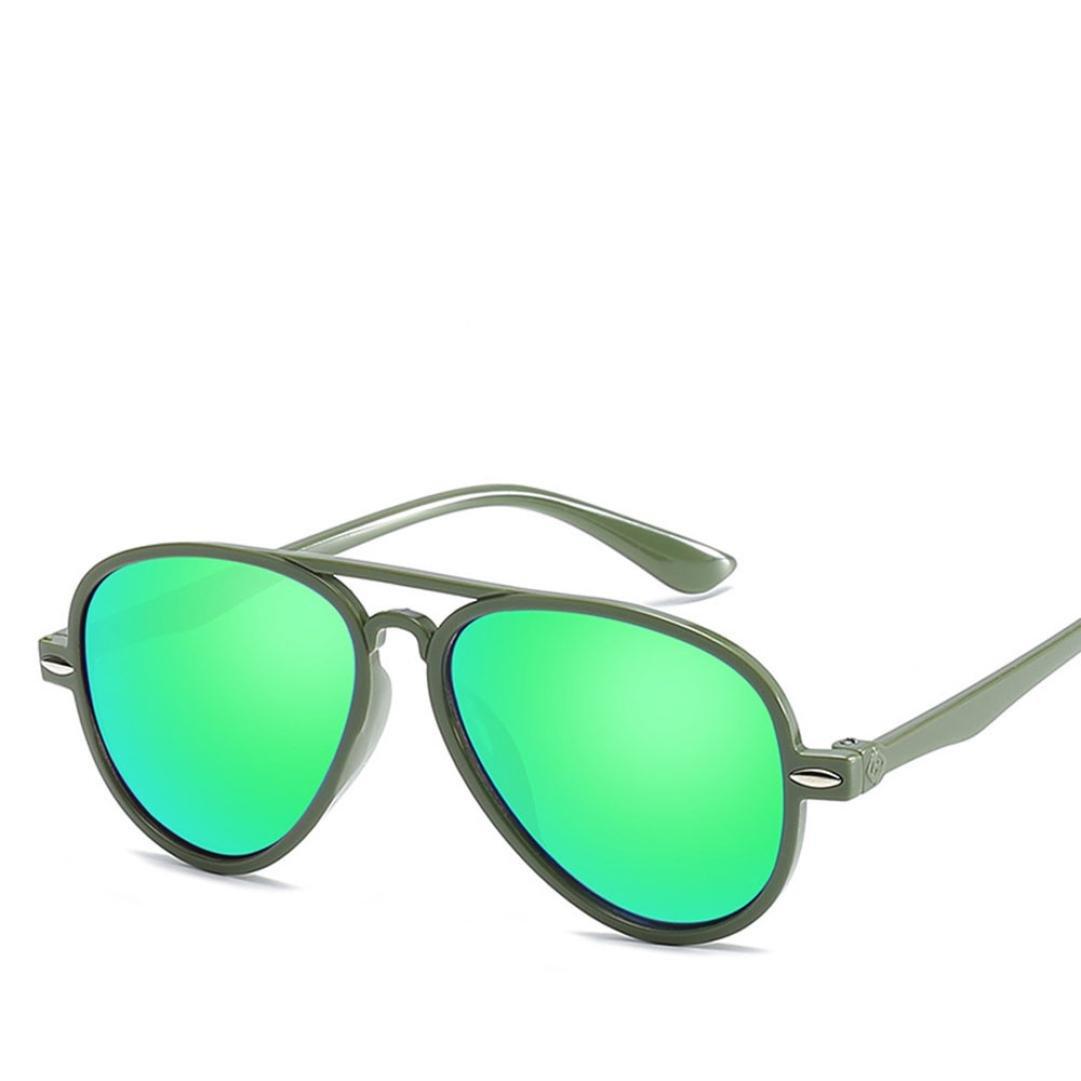Lavany Kids Sunglasses,Retro Baby Boy Girls Anti-UV Glasses Color Film Sunglasses