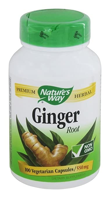 NATURE'S WAY GINGER ROOT, 100 CAP