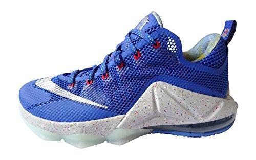 Nike - Zapatillas de baloncesto para hombre - hyper cobalt metallic silver light crimson 406