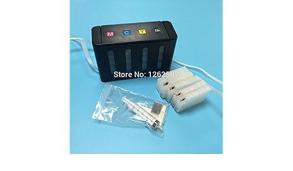 sistema de ARBUYSHOP HP711XL CISS / sistema de tinta a granel para HP711 para HP Designjet T120 Plotter: Amazon.es: Electrónica