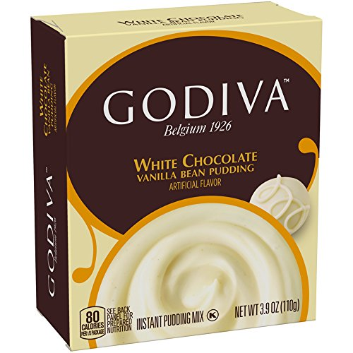 Godiva White Chocolate Pudding Mix, 3.9 oz