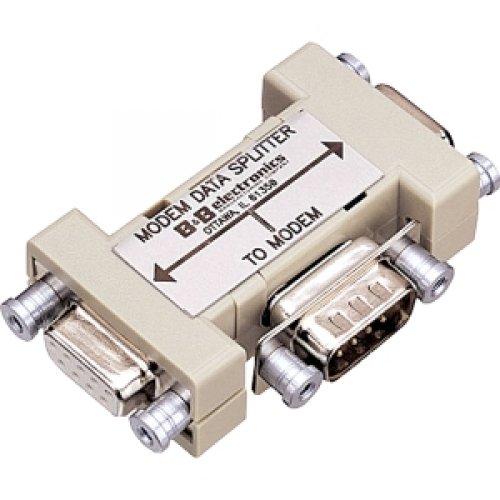 Rs 232 Splitter (B&B ELECTRONICS 9PIN MODEM DATA SPLITTER Serial RS-232 / 9PMDS)
