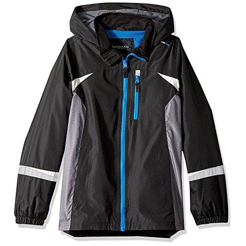 Price comparison product image London Fog Little Boys' Colorblocked Jacket, Bold Black, 5/6