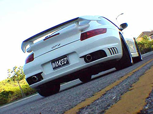 Amazon.com: Porsche 997 GT2 Rear Bumper for 997 Carrera & Turbo: Automotive