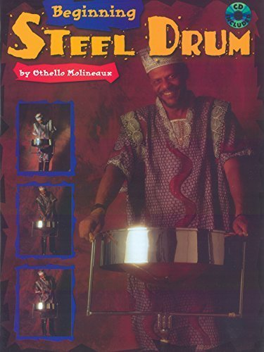 Beginning Steel Drum: Book, CD & Poster [With Full-Size Practice Poster and Accompaniment CD] Paperback October 1, 1995 (Steel Drum Beginning)