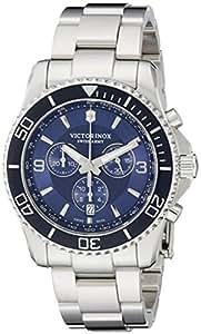 Victorinox Men's 241689 Maverick Stainless Steel Bracelet Watch