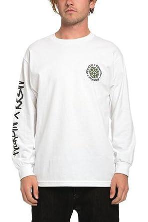 10c0b1b7e371 Amazon.com: KR3W Men's Heroin X Long Sleeve Shirts,Large,White: Clothing