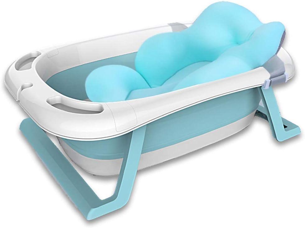 Azul, Cojn Haioo Baera Plegable Beb Baeras para Bebes de Viaje ...