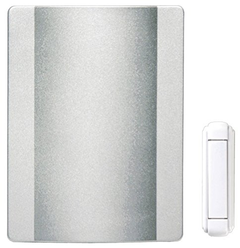 Heath Zenith SL-6505-SN Wireless Battery Operated Door Ch...