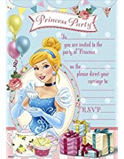 Disney Princess Party Invitations Pack Of 20
