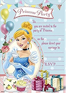 Amazoncom Disney Princess Party Supplies Invitations Toys Games