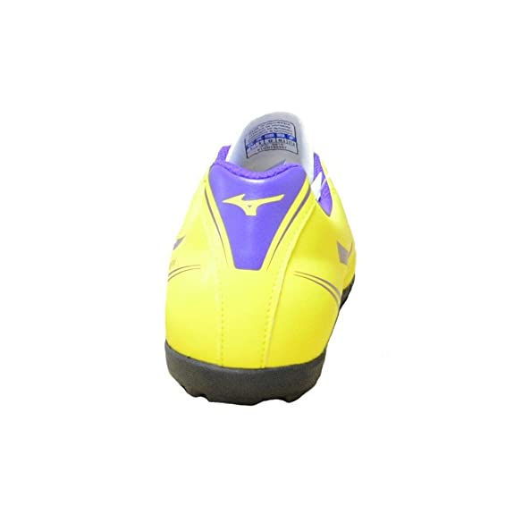 Mizuno - Mizuno Monarcida As Scarpini Calcetto Uomo Gialli P1GD162467 - Amarillo, 40,5