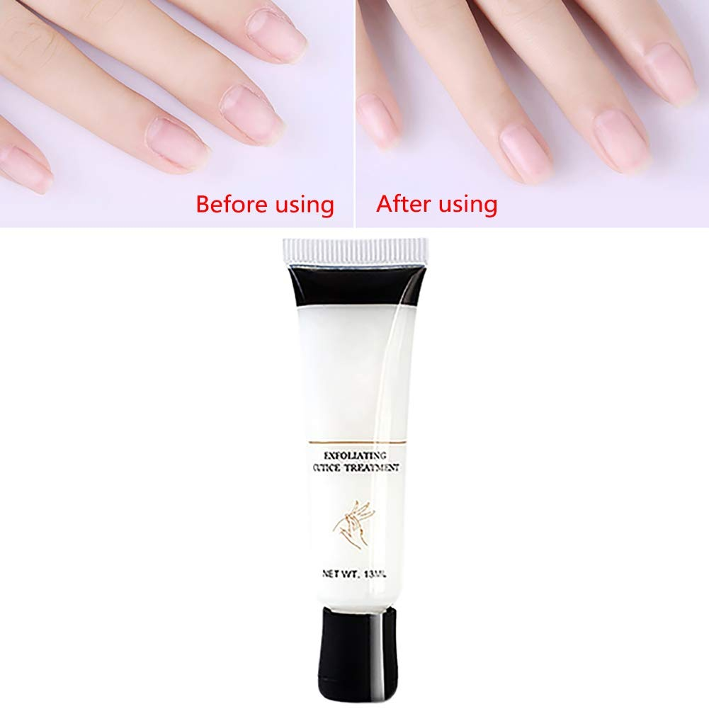 Ofanyia Nail Softener Exfoliating Cuticle Remover Treatment Gel for Nail Manicure Scrub Nail Repair Liquid