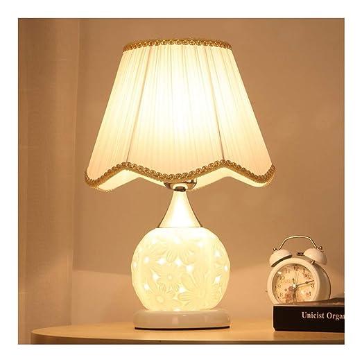 Lámpara de mesa de noche dormitorio atenuadores de LED decorativo ...