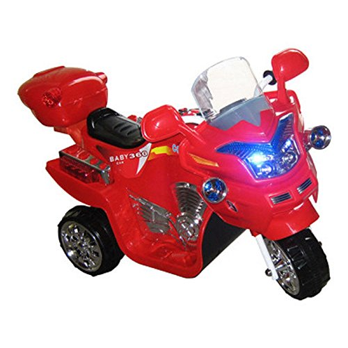 [NEW! Lil' Rider Battery-Powered FX Bike 3-Wheeler - Red] (Jack In The Box Costume Head For Sale)