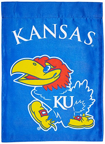 NCAA Kansas Jayhawks 2-Sided Garden Flag