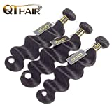 QTHAIR 10A Brazilian Virgin Hair Body Wave Human