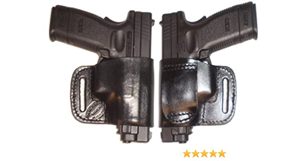 FN FNP FNX FNS 9 40 Pro Carry Belt Ride Gun Holster Right Hand Black