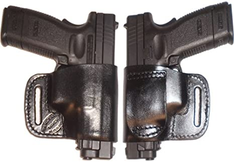 FN FNP FNX FNS 9 40 Pro Carry Belt Ride Gun Holster Right Hand Black