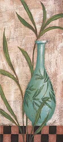 Oil Painting 'a Green Vase', 20 x 45 inch / 51 x 114 cm , on High Definition HD canvas prints is for Gifts And Bed Room, Garage And Home - Megabus Coupon Code