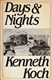Days and Nights, Kenneth Koch, 0394710037