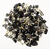 Steren 100 CT Grip Clip Cable Clips