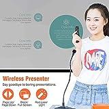 ESYWEN Wireless Presenter Remote BT & RF 2.4GHz USB