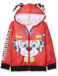 Paw Patrol Pup Faces Childrens Hooded Jumper