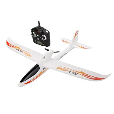 Park10 Toys F959 Sky-King 2.4G 3CH Radio Control RC Airplane Aircraft RTF (Red): Toys & Games