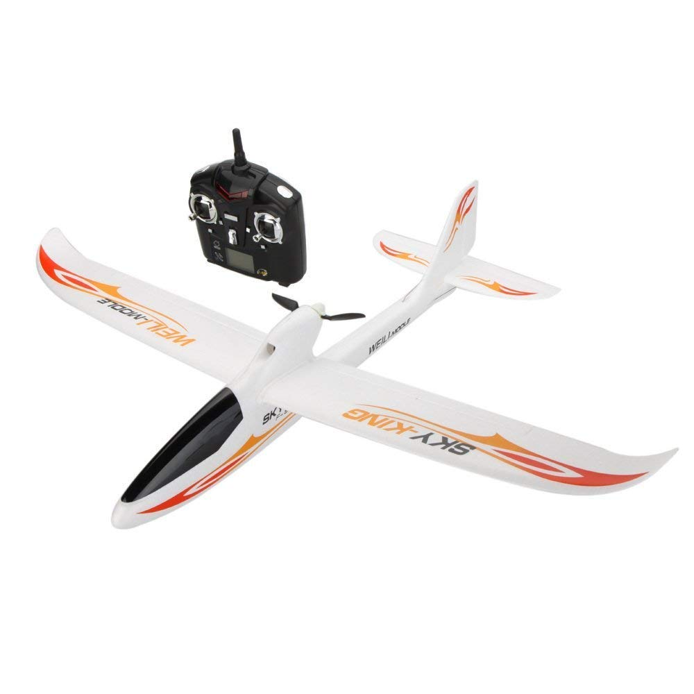 Park10 Toys F959 Sky-King 2.4G 3CH Radio Control RC Airplane Aircraft RTF (Red)