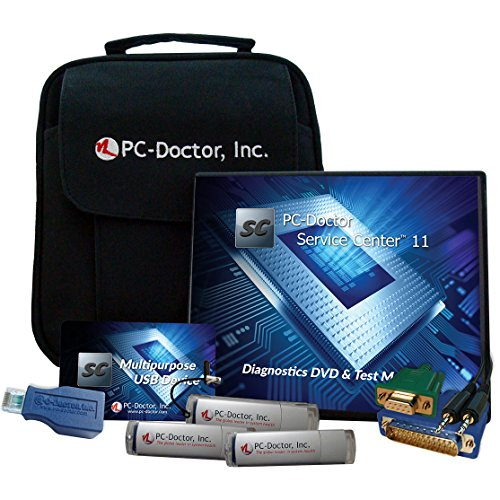 PC-Doctor Service Center 11 Computer Diagnostics Repair Kit - Motherboard Tester Free