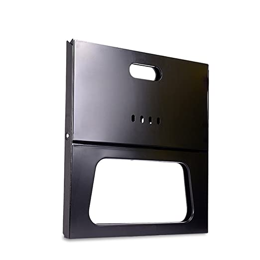 Camping X Tipo Parrilla Plegable Estufa de Barbacoa de carbón portátil portátil Original Hecho de Placa de Hierro en frío para Exterior y hogar: Amazon.es: ...